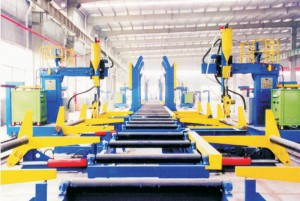 H-BOX-Beam-assembly-assembling-Production-Line-topcncmachine